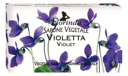Купить Натуральное мыло Fiori Di Primavera Violetta 100г, Florinda