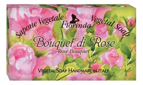 Натуральное мыло Note Fiorite Bouquet Di Rose 100г