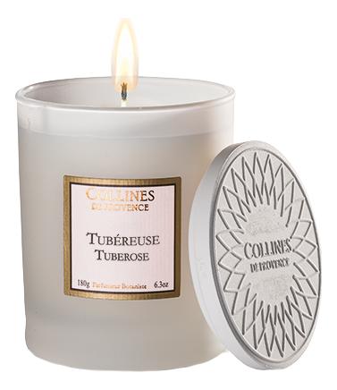 Ароматическая свеча Tuberose 180г (тубероза)
