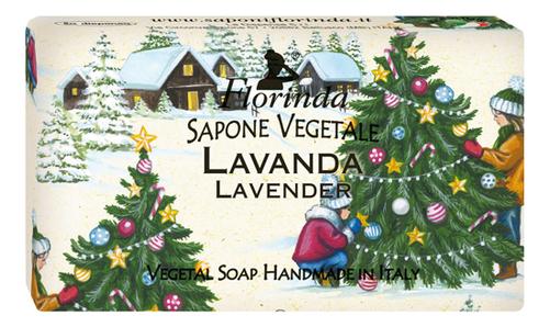 Натуральное мыло Merry Christmas Lavanda 100г