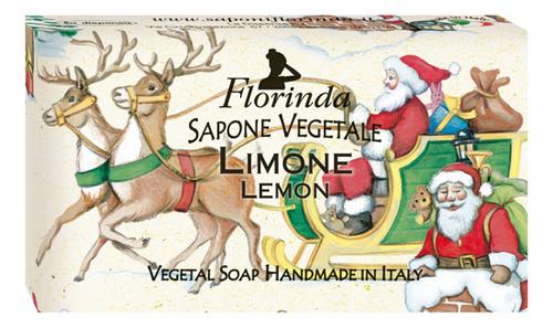 Натуральное мыло Merry Christmas Limone 100г