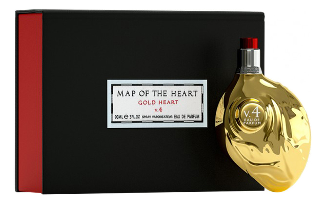 Map Of The Heart Gold Heart: парфюмерная вода 90мл