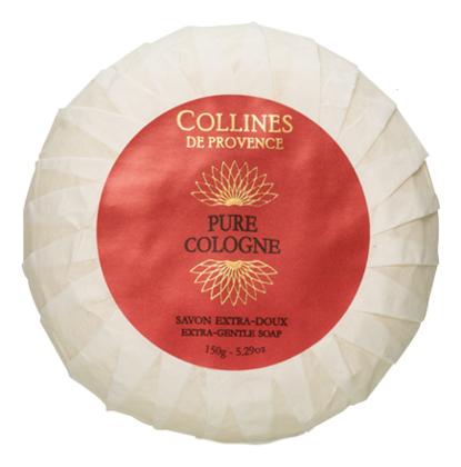 Купить Мыло туалетное Pure cologne 150г (чистый одеколон), Collines de Provence