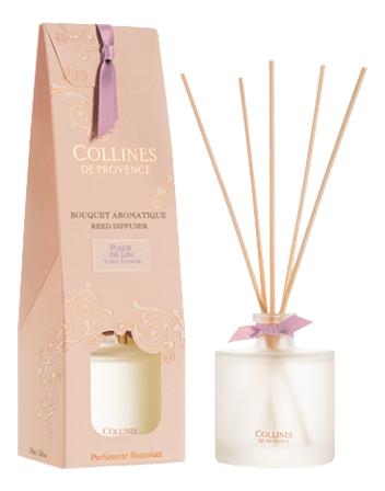 Купить Ароматический диффузор Secret d'Armoire 100мл: Flax flower, Collines de Provence