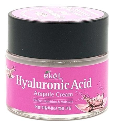Купить Ампульный крем для лица с гиалуроновой кислотой Hyaluronic Acid Ampule Cream 70мл, Ekel