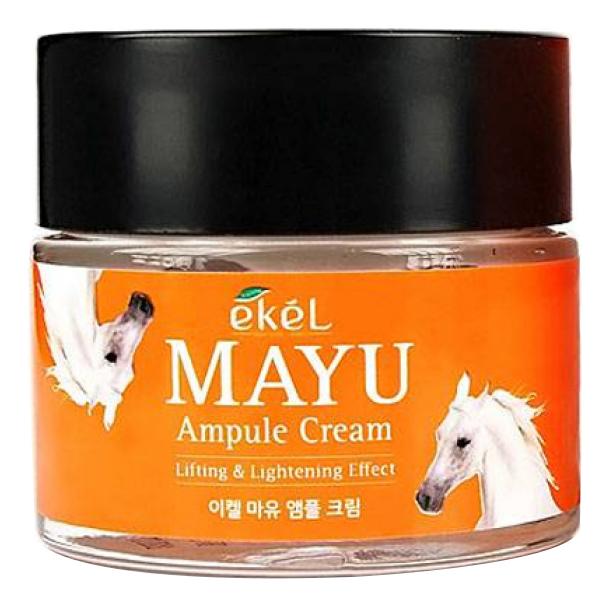 Купить Ампульный крем для лица с лошадиным жиром Mayu Ampule Cream 70мл, Ekel