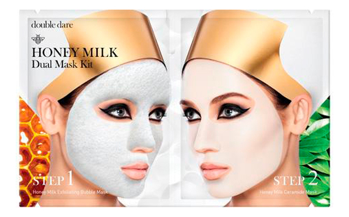 Маска для лица двухкомпонентная Honey Milk Dual Mask