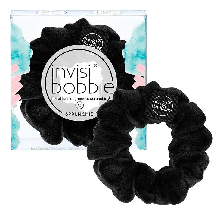 цена на Резинка для волос Sprunchie True Black (черная)
