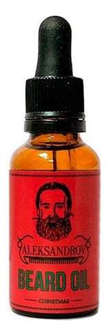 Масло для бороды Beard Oil Christmas 30мл масло для бороды sunrise beard oil nothing масло 30мл