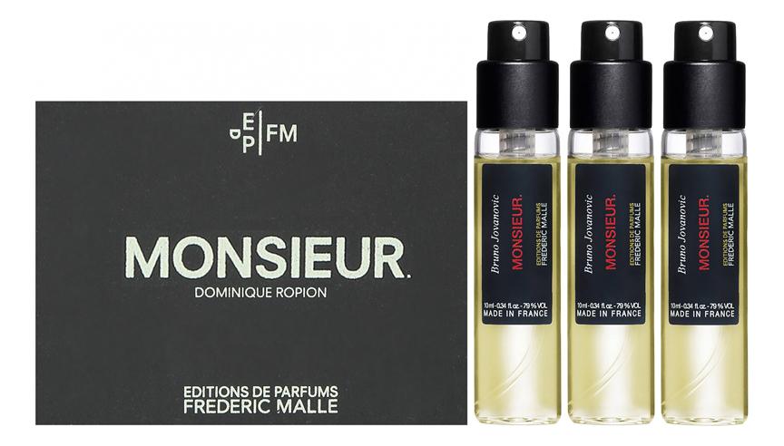 Купить Monsieur: парфюмерная вода 3*10мл, Frederic Malle