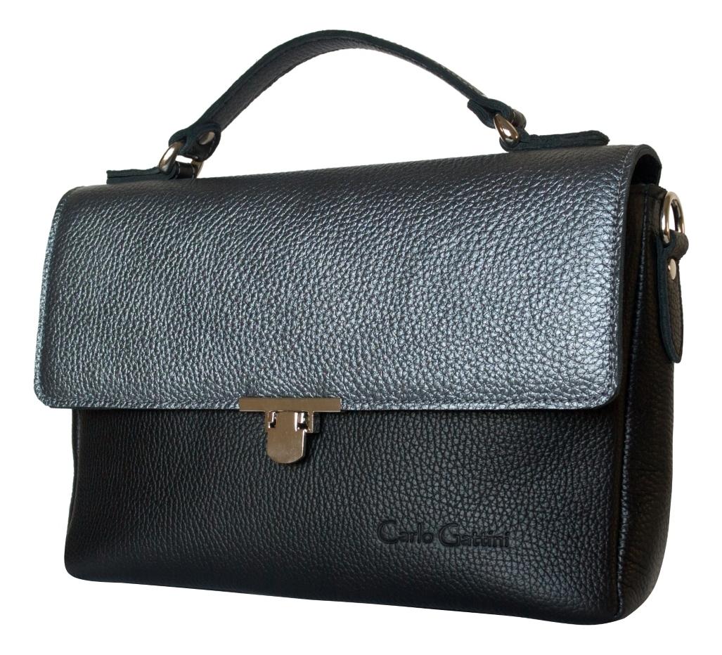 Купить Сумка Vallerana Black 8021-01, Carlo Gattini