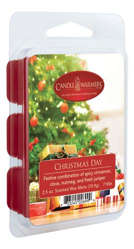 Купить Наполнитель для воскоплавов Christmas Day Wax Melts 70, 9г, Candle Warmers