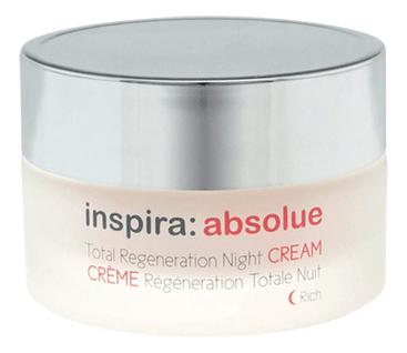 Ночной регенерирующий лифтинг-крем для лица Inspira: Absolue Total Regeneration Night Cream 50мл крем ночной регенерирующий