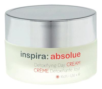 Детоксицирующий обогащенный липидами дневной крем для лица Inspira: Absolue Detoxifying Day Cream 50мл