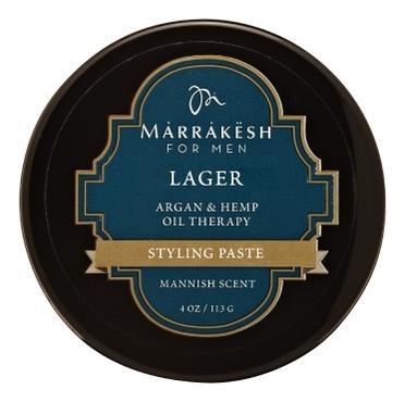 Моделирующая паста для укладки волос Lager Styling Paste For Men 113г