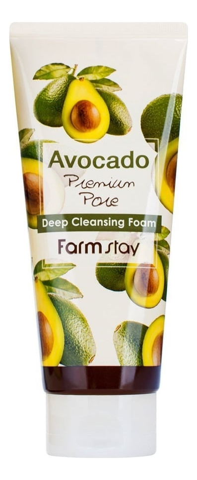 Фото - Пенка для умывания с экстрактом авокадо Avocado Premium Pore Deep Cleansing Foam 180мл пенка для умывания milky piggy elastic pore cleansing foam 120мл