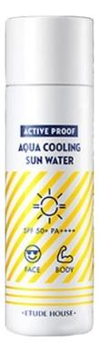Охлаждающая солнцезащитная вода Active Proof Aqua Cooling Sun Water SPF50+ PA++++ 50мл
