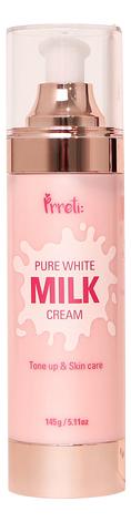 Крем для лица на основе молочных протеинов осветляющий Pure White Milk Cream: Крем 145г