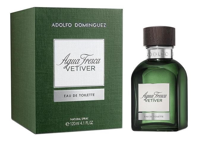 Adolfo Dominguez Agua Fresca Vetiver: туалетная вода 120мл топ adolfo dominguez adolfo dominguez ad024eweugu2