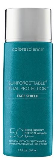 Купить Солнцезащитная эмульсия для лица Тотальная защита Sunforgettable Total Protection Face Shield SPF50 PA+++ 55мл: Натуральный, Colorescience