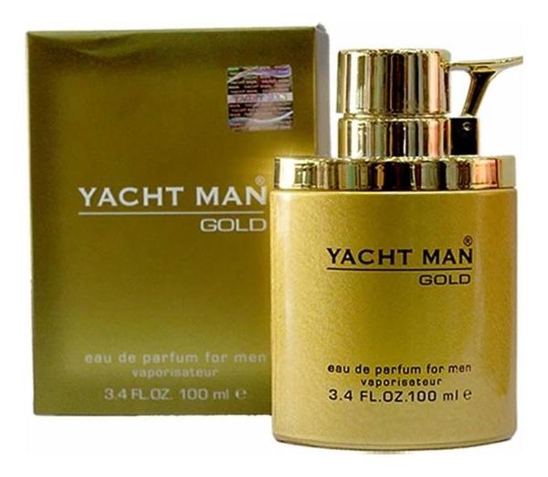 Купить Yacht Man Gold: парфюмерная вода 100мл, Myrurgia