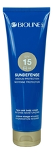 Bioline-Jato Крем для тела и лица Sundefense Medium Protection Face And Body Cream SPF15 150мл