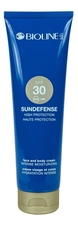 Bioline-Jato Крем для тела и лица Sundefense High Protection Face And Body Cream SPF30 150мл