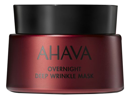 Купить Ночная маска для лица против глубоких морщин Apple Of Sodom Overnight Deep Wrinkle Mask 50мл, AHAVA