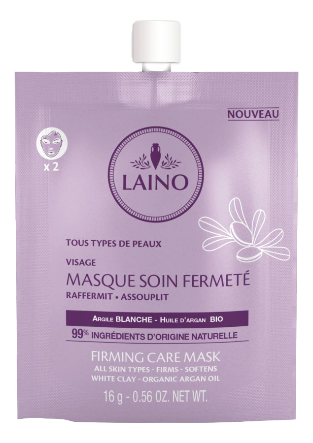 Органическая маска для лица Укрепляющая и подтягивающая Firming Care Mask 16г недорого