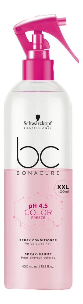 Спрей-кондиционер для волос BC pH 4.5 Color Freeze Spray Conditioner: Спрей-кондиционер 400мл loreal professional volumetry спрей