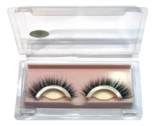 Накладные ресницы Eyelashes 3D/11 Pamela