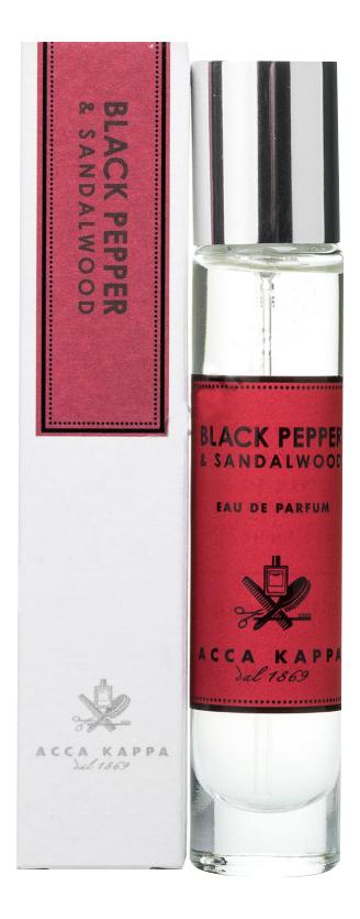 Купить Black Pepper & Sandalwood: парфюмерная вода 15мл, Black Pepper & Sandalwood, Acca Kappa