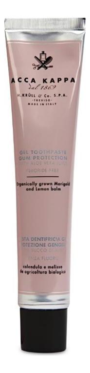 Купить Гелевая зубная паста для защиты десен без содержания фтора Gel Toothpaste 100мл, Acca Kappa