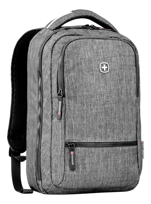Фото - Рюкзак 605023 (темно-серый) рюкзак городской wenger urban contemporary с одним плечевым ремнем темно серый 19х12х33 см 8 л шт