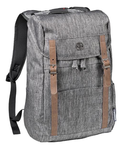 Фото - Рюкзак 605025 (темно-серый) рюкзак городской wenger urban contemporary с одним плечевым ремнем темно серый 19х12х33 см 8 л шт