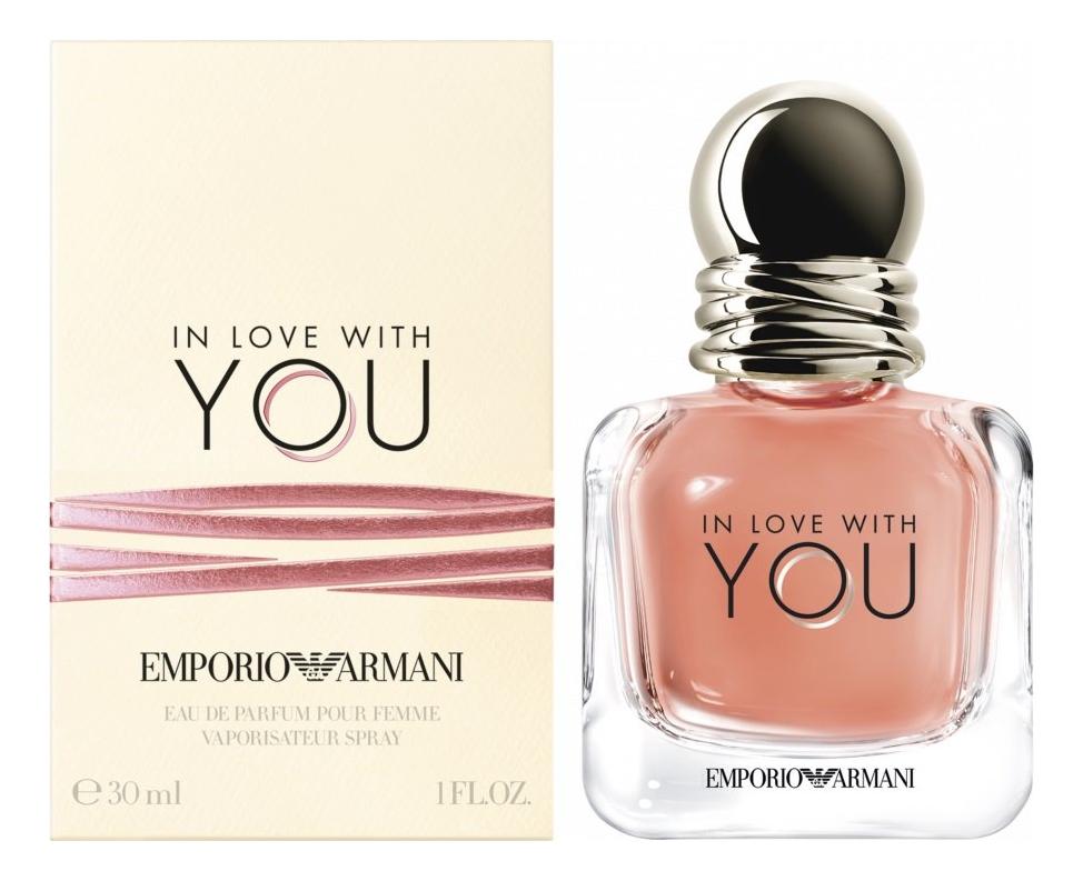 Купить Emporio In Love With You: парфюмерная вода 30мл, Giorgio Armani