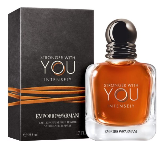 Emporio Stronger With You Intensely: парфюмерная вода 50мл armani emporio because it's you парфюмерная вода 50мл