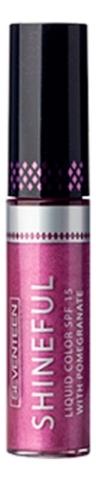 Жидкая помада-блеск для губ с глянцевым эффектом Shineful Liquid Color SPF15 10мл: No 17, Seventeen  - Купить