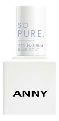 Лак-база для ногтей So Pure Natural Base Coat 15мл