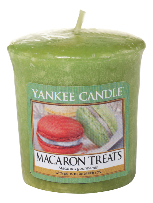 Ароматическая свеча Macaron Treats: Свеча 49г