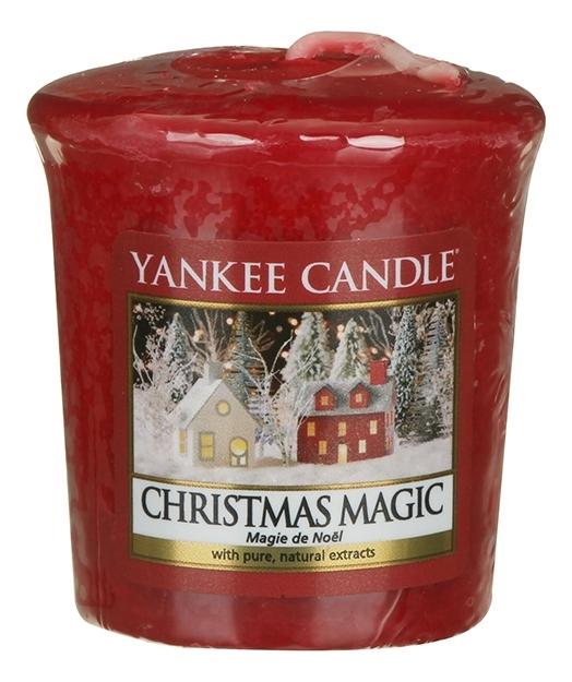 Ароматическая свеча Christmas Magic: Свеча 49г