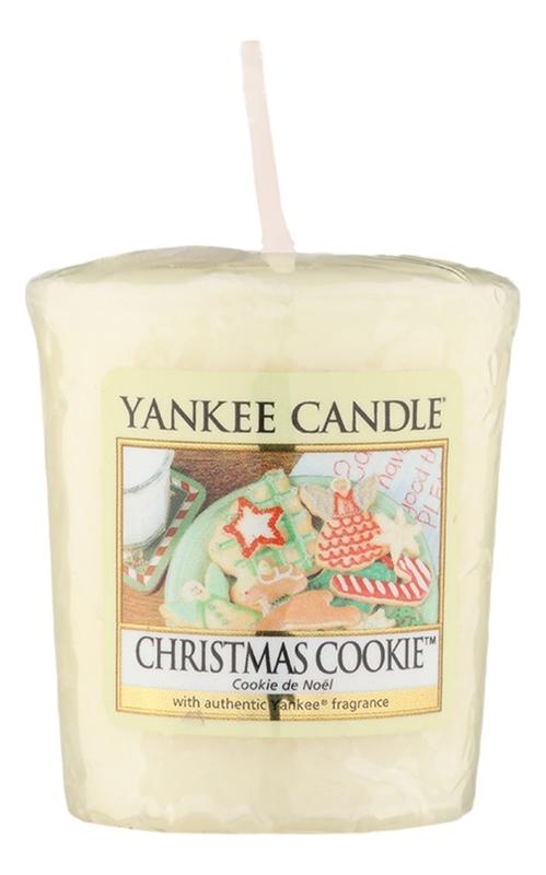 Купить Ароматическая свеча Christmas Cookie: Свеча 49г, Yankee Candle