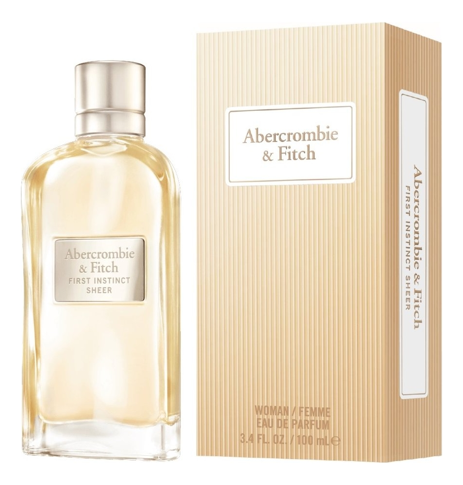 Купить Abercrombie & Fitch First Instinct Sheer: парфюмерная вода 100мл, Abercrombie & Fitch First Instinct Sheer