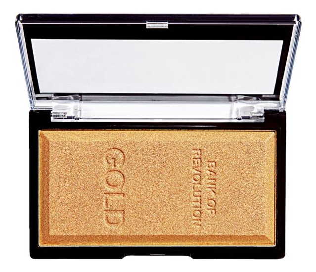 Хайлайтер для лица Ingot Highlighter 12г: Gold хайлайтер для лица 4k highlighter palette 16г gold