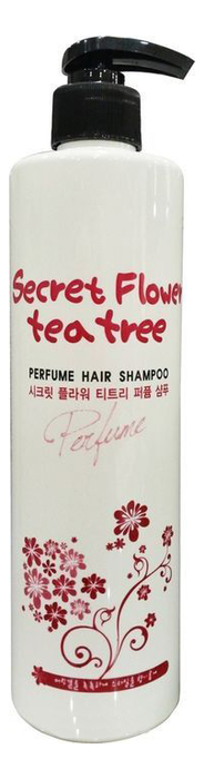 Шампунь для волос Secret Flower Tea Tree Perfume Shampoo 500мл