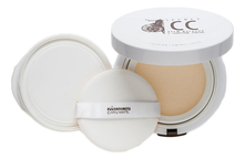 PREMIUM Крем-кушон для лица с секретом улитки Homework Secret CC Cushion Compact 15мл