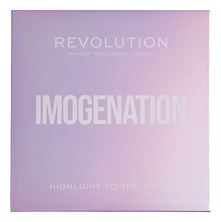 Makeup Revolution Палетка хайлайтеров Highlight To The Moon Imogenation