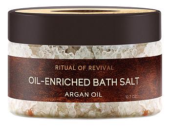 Ароматическая соль для ванн Ритуал восстановления Oil-Enriched Bath Salt 250мл ароматическая соль для ванн canaan ароматическая соль для ванн