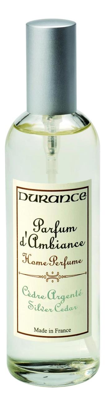 Купить Ароматический спрей для дома Home Perfume Silver Cedar 100мл (серебряный кедр), Durance