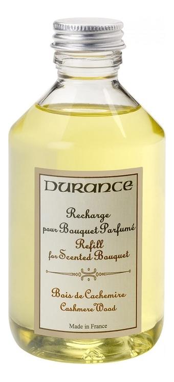 Купить Наполнитель для аромадиффузора Refill For Scented Bouquet Cashmere Wood 250мл (дерево кашмира), Durance